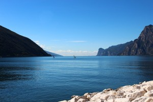 Garda Windsurfer Italië Riva Vakantie Torbole