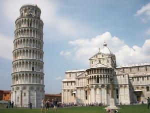 Italië Pisa Scheve Toren Stad